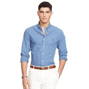 Polo Ralph Lauren Poplin Stretch Shirt (Slim)